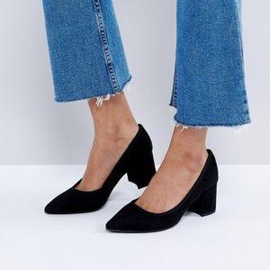 ASOS Chunky Heel Court Shoe
